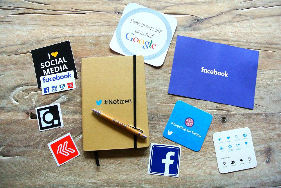 Brand design of social media and Google
